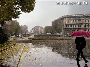 Погода в Милане фото