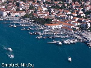 Трогир Хорватия фото