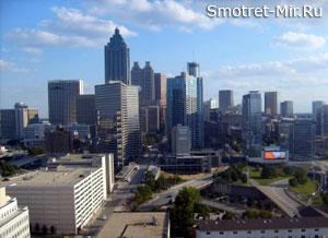 Город Атланта фото