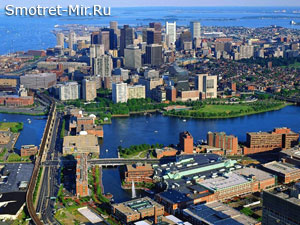 Город Бостон в США