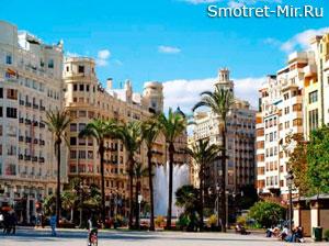 Город Валенсия в Испании