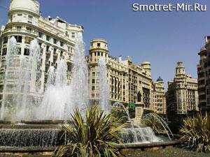 Город Валенсия фото