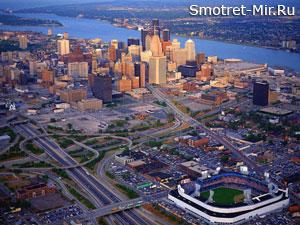 Город Детройт фото