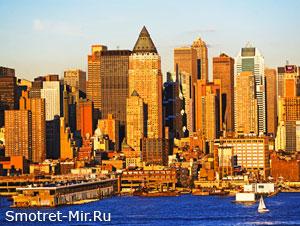 Город Нью-Йорк фото