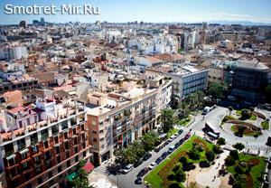 Испанский город Валенсия