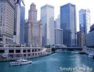 Город Чикаго фото