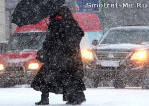 Погода в Москве фото