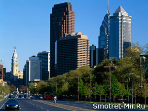 Город Филадельфия в США