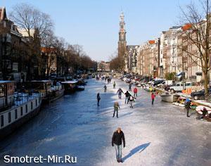Погода в Амстердаме фото