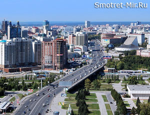 Столица Сибири Новосибирск