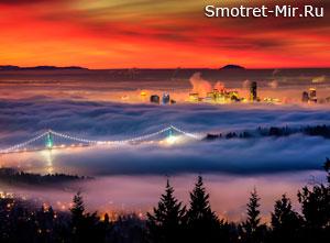 Город Ванкувер в Канаде