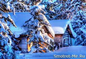 Зима на Аляске