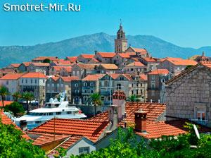 Остров Корчула в Хорватии