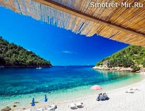 Пляжи острова Корчула