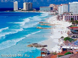 Пляжи города Канкун