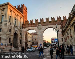 Фото города Верона в Италии