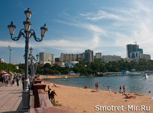 Набережная города Владивосток