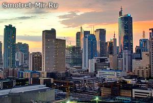 Город Манила - столица Филиппин