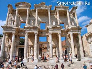 Город Эфес в Турции