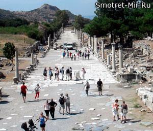 Эфес в Турции фото