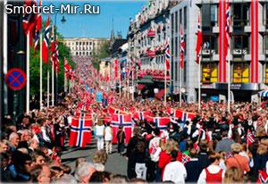 Город Осло в Норвегии