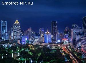 Город Бангкок в Таиланде