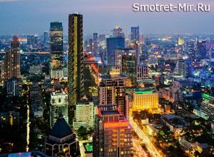 Город Бангкок фото
