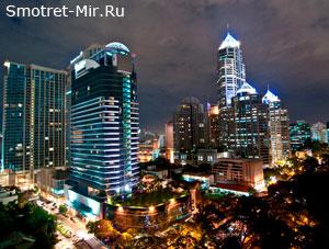 Центр Бангкока в Таиланде