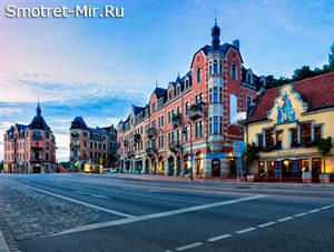 Улицы города Дрезден