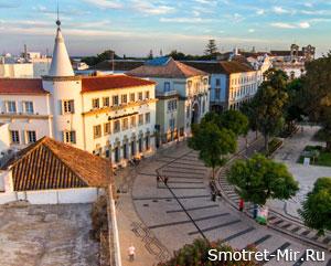 Фото португальского города Фару