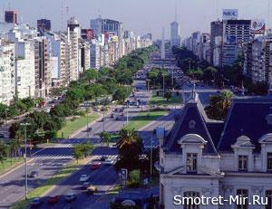 Буэнос-Айрес в Аргентине