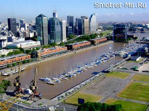 Город Буэнос-Айрес фото