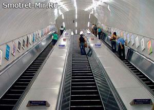 Эскалатор Лондонского метро