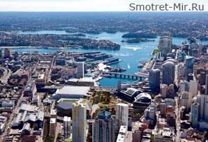 Город Сидней в Австралии