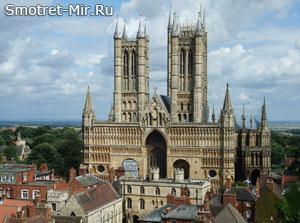 Линкольнский собор в Англии