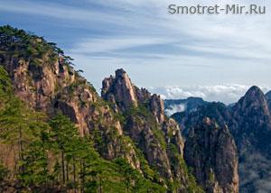Горы Хуаншань фото