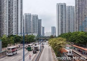 Спальный район Гонконга