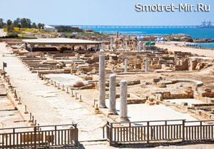Древние постройки Израиля