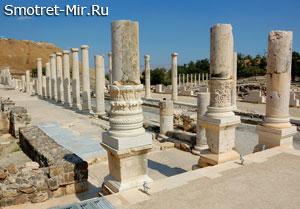Руины города Скифополиса