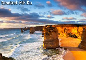 Пляж 12 Апостолов в Австралии