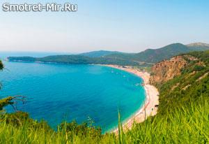 Пляж Джаз в Черногории