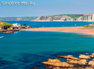 Пляж Bantham - Великобритания
