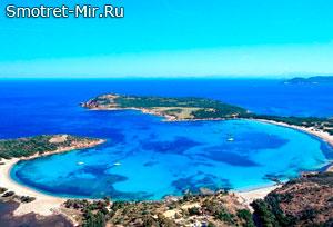 Пляж Rondinara - Корсика