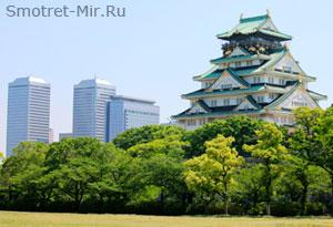 Город Осака в Японии