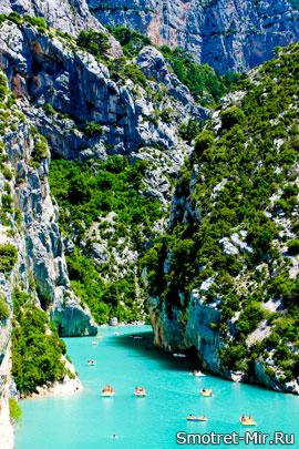 Красивые каньоны мира