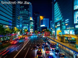 Японский город Осака
