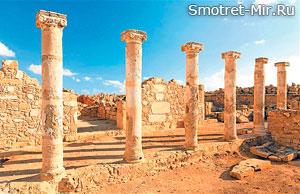 Археологический парк Като на Кипре