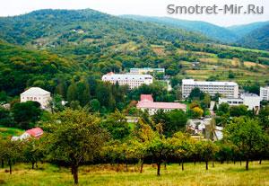 Курорт Поляна в Закарпатье