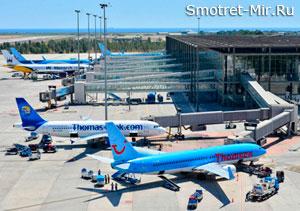 Аэропорт Даламан в Турции