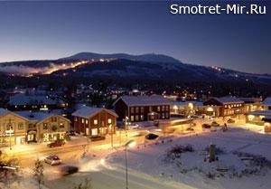 Горнолыжный курорт Трюсиль в Норвегии